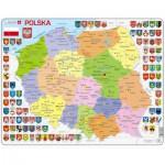 Larsen-K97 Rahmenpuzzle - Polen (auf Polnisch)