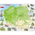 Larsen-K98 Rahmenpuzzle - Polen (auf Polnisch)