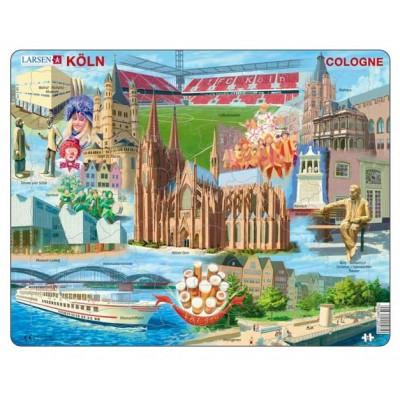 Larsen-KH15 Rahmenpuzzle - Köln