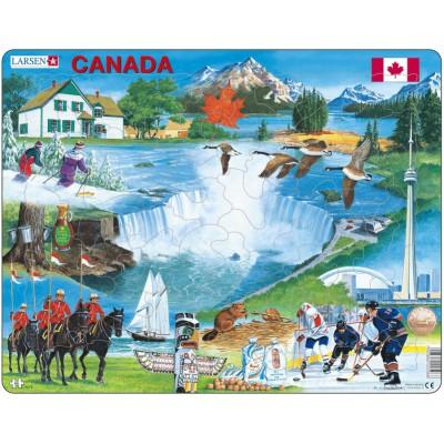 Larsen-KH6 Rahmenpuzzle - Kanada
