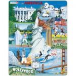 Larsen-KH7 Rahmenpuzzle - USA