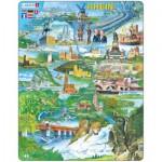 Larsen-KH8 Rahmenpuzzle - Der Rhein