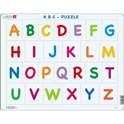 Larsen-LS13 Rahmenpuzzle - Das Alphabet