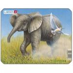 Larsen-M9-1 Rahmenpuzzle - Elefantenbaby