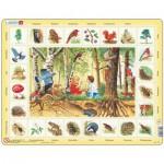 Larsen-NA4-DE Rahmenpuzzle - Im Wald