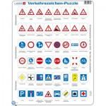 Larsen-OB3-DE Rahmenpuzzle - Verkehrszeichen