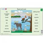 Larsen-RA3-5 Rahmenpuzzle - Read and Look 5 (auf Englisch)