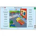 Larsen-RA5-9 Rahmenpuzzle - Read and Look 9 (auf Englisch)