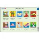 Larsen-RA9-17 Rahmenpuzzle - Read and Look 17 (auf Englisch)