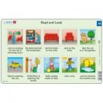 Larsen-RA9-18 Rahmenpuzzle - Read and Look 18 (auf Englisch)