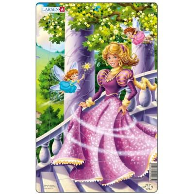 Larsen-U8-2 Rahmenpuzzle - Prinzessin