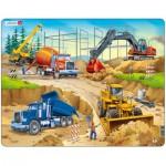 Larsen-US1 Rahmenpuzzle - Die Baustelle