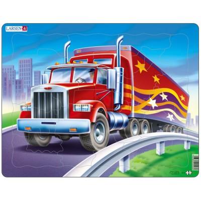Larsen-US3 Rahmenpuzzle - Truck