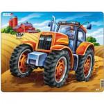 Larsen-US4 Rahmenpuzzle - Traktor