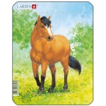 Larsen-V1-1 Rahmenpuzzle - Pferd
