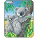 Larsen-V4-4 Rahmenpuzzle - Koalas