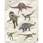 Larsen-X12 Rahmenpuzzle - Dinosaurier
