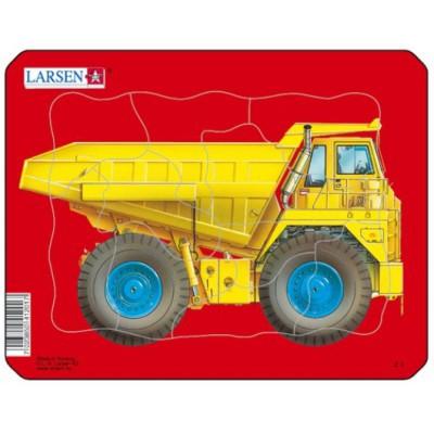 Larsen-Z1-1 Rahmenpuzzle - Kipper