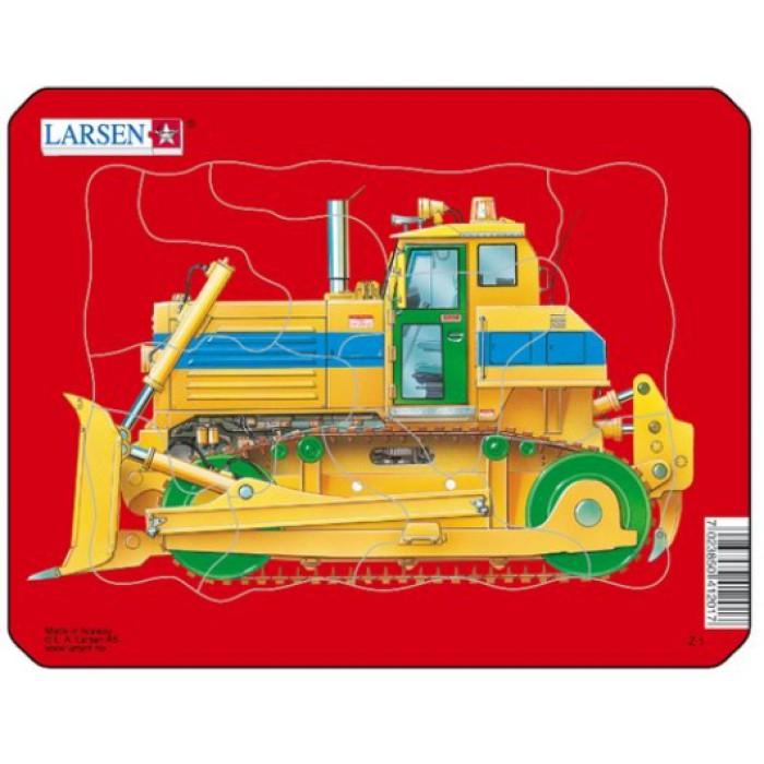 Rahmenpuzzle - Bulldozer