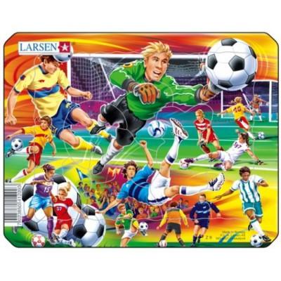 Larsen-Z9-2 Rahmenpuzzle - Fußball