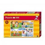 Puzzle  Noris-6060-31299 Peanuts - Linus