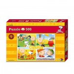 Puzzle  Noris-6060-31303 Peanuts Charlie