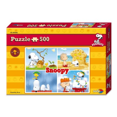 Puzzle Noris-6060-31304 Peanuts - Snoopy