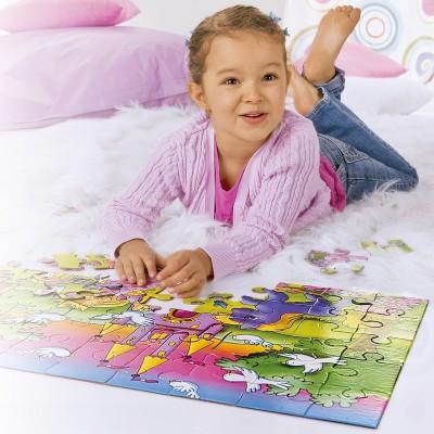 Noris-6060-34961 Riesen-Bodenpuzzle - Prinzessin