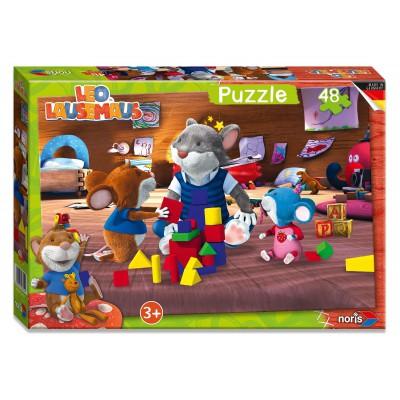 Puzzle Noris-6060-38054 Leo Lausemaus
