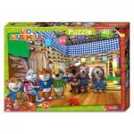 Puzzle  Noris-6060-38055 Leo Lausemaus