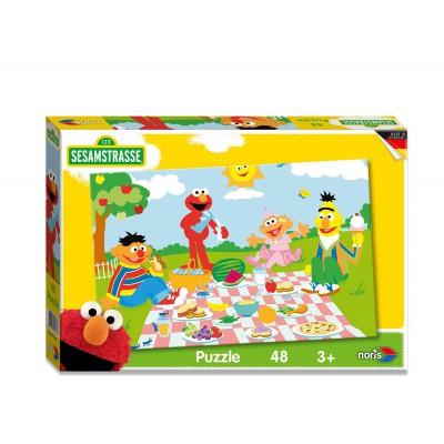 Puzzle Noris-6060-38063 Sesamstrasse