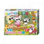 Puzzle  Noris-606031160 XXL Teile - Yoohoo & Friends
