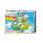 Puzzle  Noris-606031161 XXL Teile - Yoohoo & Friends