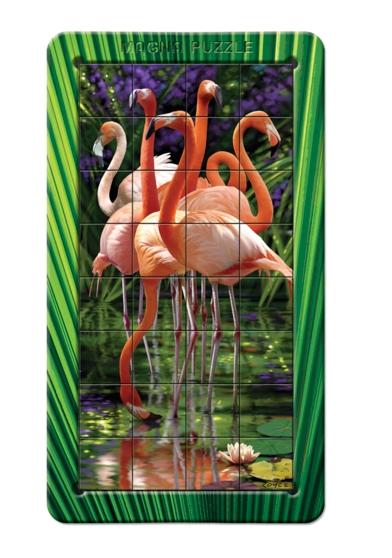 Puzzle Piatnik-031118 Flamingo