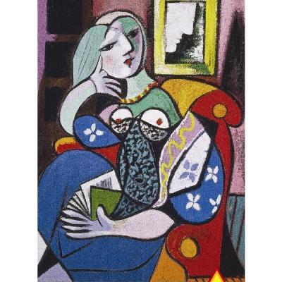 Puzzle Piatnik-5341 Picasso: Frau mit Buch