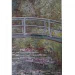 Puzzle  Piatnik-5346 Monet: Brücke in Orsay