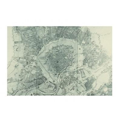 Puzzle Piatnik-5348 Vogelschauplan Wien