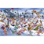 Puzzle  Piatnik-5351 Ruyer: Ski