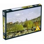 Puzzle  Piatnik-5383 Monet Claude: Quai du Louvre