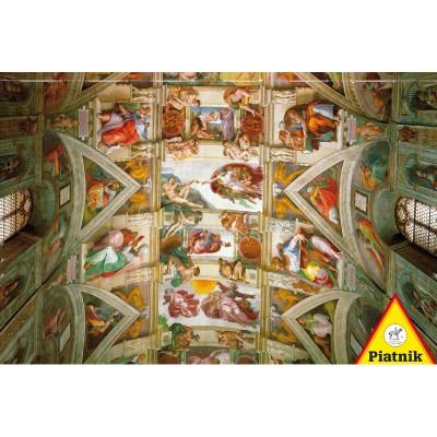 Puzzle Piatnik-5393 Michelangelo: Sixtinische Kapelle