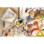 Puzzle  Piatnik-5396 Kandinsky Wassily: Bustling Aquarelle