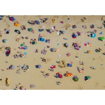 Puzzle Piatnik-5412 Strand von oben