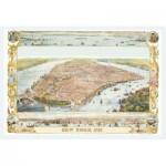 Puzzle  Piatnik-5429 Stadtplan New York, 1853