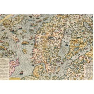 Puzzle Piatnik-5456 Carta Marina