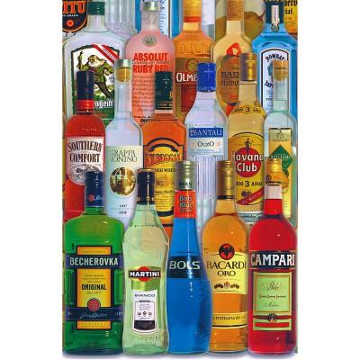 Puzzle Piatnik-5689 Getränke der Welt