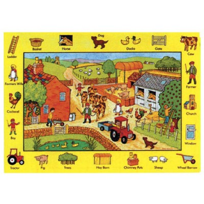 Puzzle James-Hamilton-717 XXL Teile - Auf dem Bauernhof