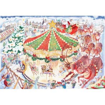 Puzzle James-Hamilton-Carousel Emma Marsden - Christmas Carousel