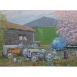 Puzzle  James-Hamilton-Farmyard Roy Didwell - Springtime Farmyard