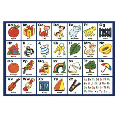 James-Hamilton-Floor-718 Riesen-Bodenpuzzle - Das ABC