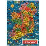 Puzzle  James-Hamilton-JR-500-Ireland XXL-Teile - Irland (auf Englisch)